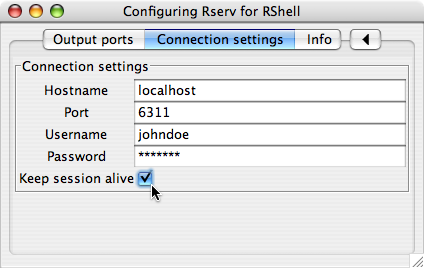 4 4  R-scripts with the RShell processor